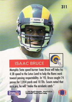 1994 Playoff #311 Isaac Bruce Back