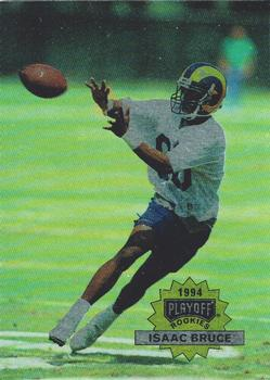 1994 Playoff #311 Isaac Bruce Front