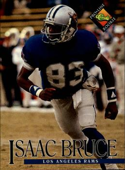 1994 Pro Line Live #358 Isaac Bruce Front