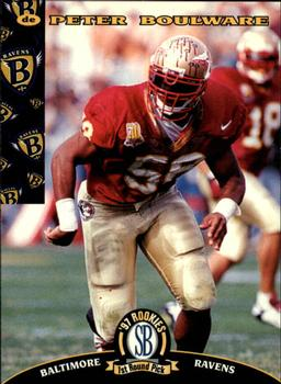 1997 Score Board NFL Rookies #7 Peter Boulware Front