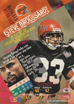 1994 Stadium Club #542 Steve Broussard Back