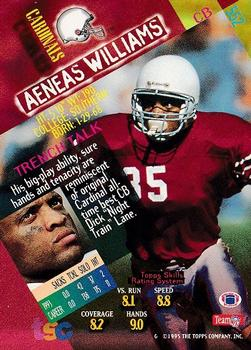 1994 Stadium Club #552 Aeneas Williams Back