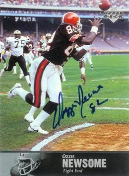 1997 Upper Deck Legends - Autographs #AL154 Ozzie Newsome Front