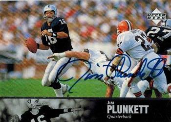 1997 Upper Deck Legends - Autographs #AL155 Jim Plunkett Front