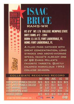 1994 Topps #448 Isaac Bruce Back
