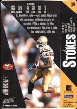 1995 Action Packed #39 J.J. Stokes Back