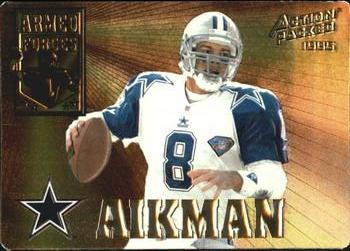 1995 Action Packed - Armed Forces #AF3 Troy Aikman Front