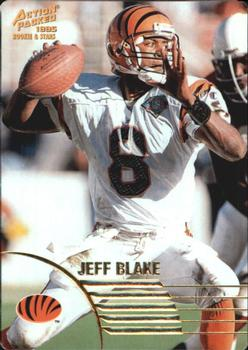 1995 Action Packed Rookies & Stars #47 Jeff Blake Front