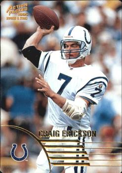 1995 Action Packed Rookies & Stars #61 Craig Erickson Front