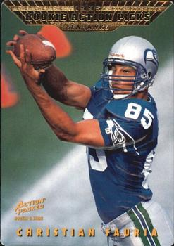 1995 Action Packed Rookies & Stars #82 Christian Fauria Front