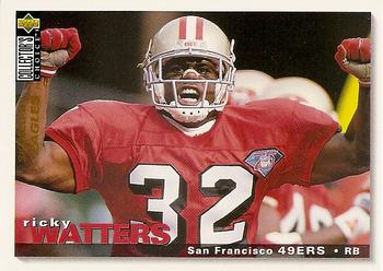 1995 Collector's Choice #190 Ricky Watters Front