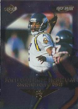 1999 Collector's Edge First Place - Gold Ingot #83 Randall Cunningham Front
