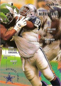 1995 Fleer #96 Russell Maryland Front