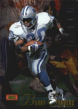 1995 Classic Images Limited #6 Barry Sanders Front
