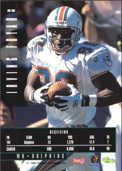 1995 Classic Images Limited #26 Irving Fryar Back