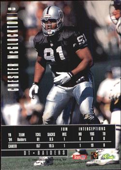 1995 Classic Images Limited #53 Chester McGlockton Back