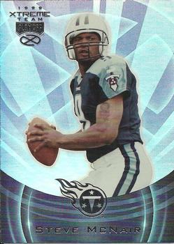 deb207b41ab 1999 Playoff Absolute EXP - Extreme Team #ET10 Steve McNair Front