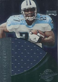 91c6c7fc971 1999 Playoff Absolute EXP - Team Jersey Tandems #JT26 Eddie George / Steve  McNair Front
