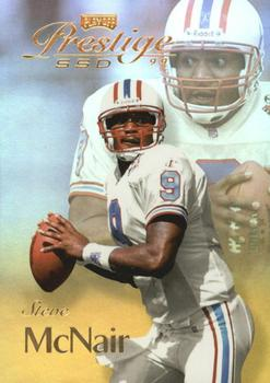 1999 Playoff Prestige SSD - Spectrum Gold #B133 Steve McNair Front