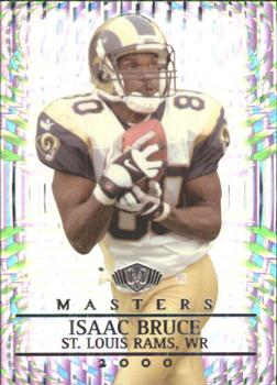 2000 Collector's Edge Masters - HoloSilver #148 Isaac Bruce Front