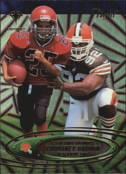 2000 Collector's Edge Odyssey - Tight #T10 Courtney Brown Front