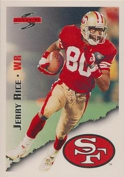 1995 Score #3 Jerry Rice Front