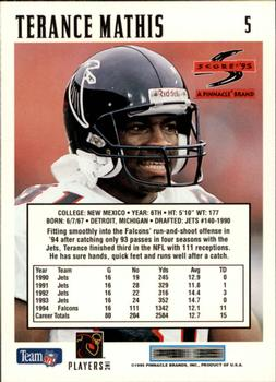 1995 Score #5 Terance Mathis Back