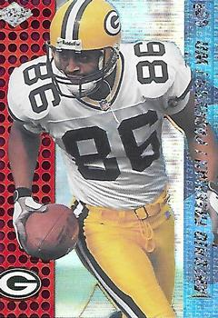 2000 Collector's Edge T3 - HoloRed #53 Antonio Freeman Front