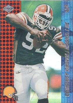 2000 Collector's Edge T3 - HoloRed #166 Courtney Brown Front