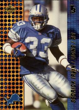 2000 Collector's Edge T3 - Retail #48 Sedrick Irvin Front