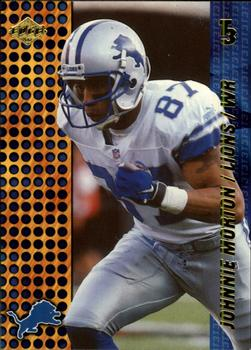 2000 Collector's Edge T3 - Retail #50 Johnnie Morton Front