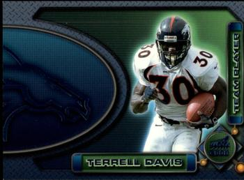 2000 Pacific Aurora - Team Players #2a Terrell Davis Front
