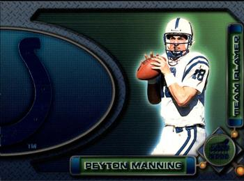 2000 Pacific Aurora - Team Players #4a Peyton Manning Front