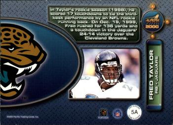 2000 Pacific Aurora - Team Players #5a Fred Taylor Back