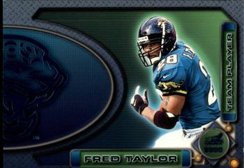 2000 Pacific Aurora - Team Players #5a Fred Taylor Front