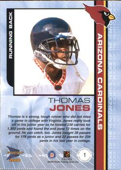 2000 Pacific Prism Prospects - ROY Candidates #1 Thomas Jones Back