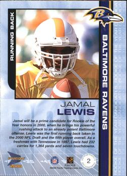 2000 Pacific Prism Prospects - ROY Candidates #2 Jamal Lewis Back