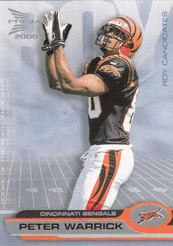 2000 Pacific Prism Prospects - ROY Candidates #4 Peter Warrick Front