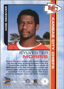 2000 Pacific Prism Prospects - ROY Candidates #5 Sylvester Morris Back