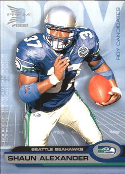 2000 Pacific Prism Prospects - ROY Candidates #10 Shaun Alexander Front