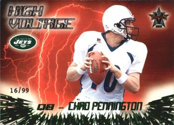 2000 Pacific Vanguard - High Voltage Green #24 Chad Pennington Front