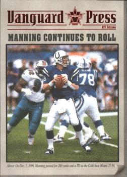 2000 Pacific Vanguard - Press Hobby #5 Peyton Manning Front