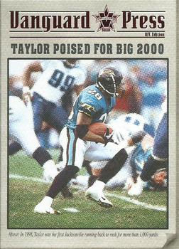 2000 Pacific Vanguard - Press Hobby #6 Fred Taylor Front