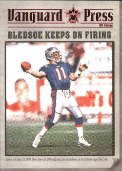 2000 Pacific Vanguard - Press Hobby #7 Drew Bledsoe Front