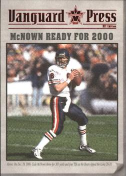 2000 Pacific Vanguard - Press Retail #2 Cade McNown Front