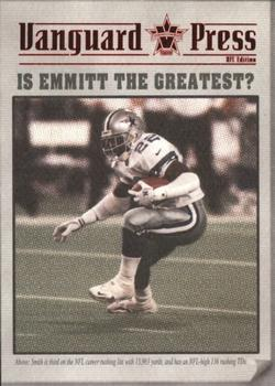 2000 Pacific Vanguard - Press Retail #4 Emmitt Smith Front