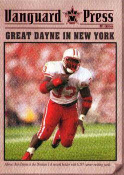 2000 Pacific Vanguard - Press Retail #6 Ron Dayne Front