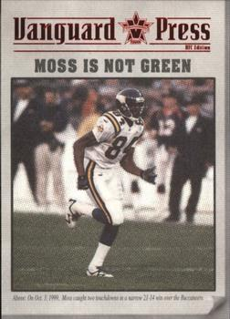 2000 Pacific Vanguard - Press Retail #7 Randy Moss Front