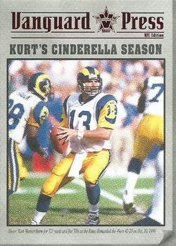 2000 Pacific Vanguard - Press Retail #9 Kurt Warner Front
