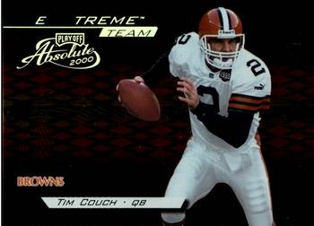 2000 Playoff Absolute - Extreme Team #XT2 Tim Couch Front